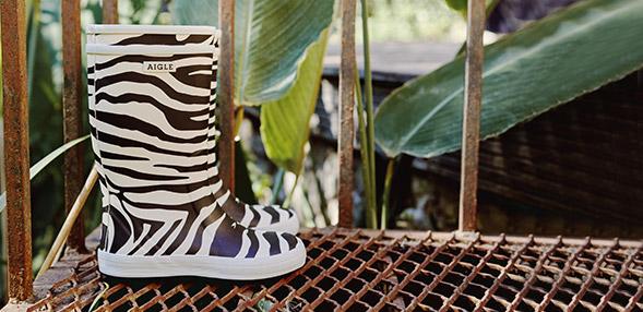 Škornji print