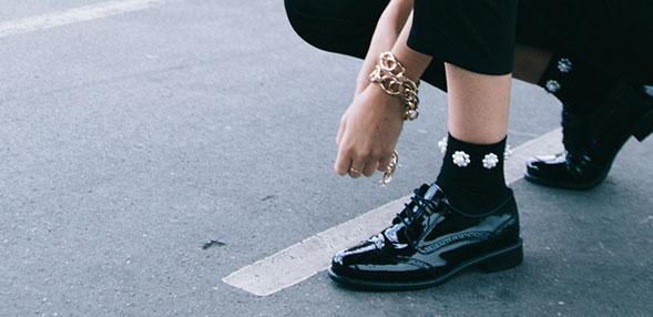 Čevlji Derby & Čevlji Richelieu